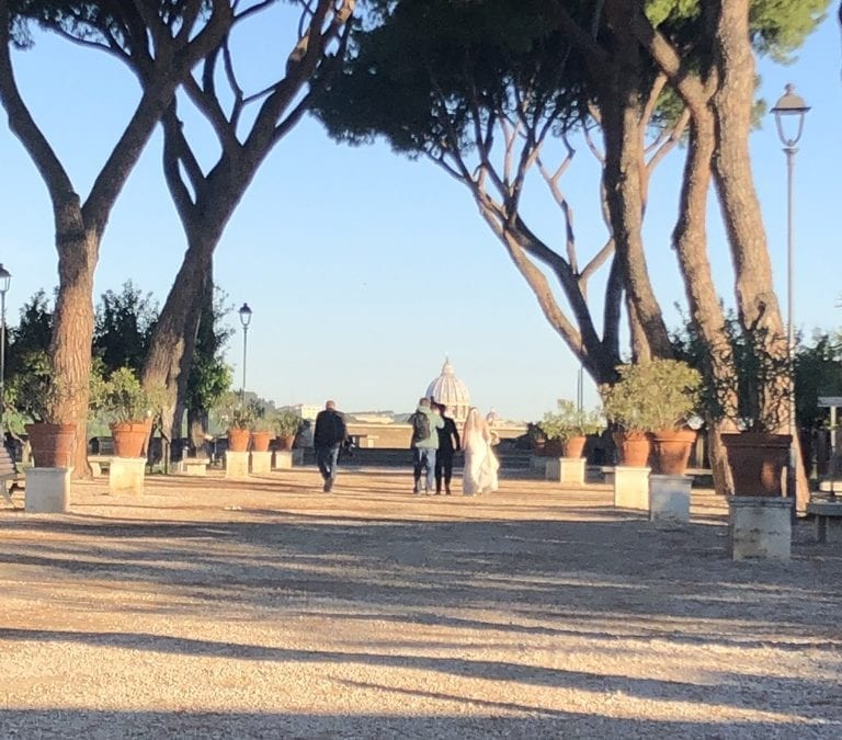 Marry Underneath the Orange Trees at Aventine Hill